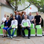 Prize winners selected in the Sto Foundation competition to find the best apprentices