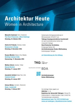 Architektur Heute 2016 | Women in Architecture