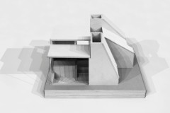 During his master's studies, Interior Scholarship winner Bastian Feltgen had the task of designing a house of no more than 25 square metres using only models. Photo: Sto Foundation / AIT / Bastian Feltgen