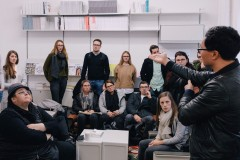 Since 2015, the Sto Foundation and the non profit ARCH+ Verein e.V. have supported the practical training of up-and-coming architects in the area of architecture communication through a scholarship Photo: Sto Foundation / Luisa Hanika