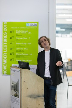 Jon Lott at the November Talks 2019 in London