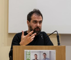 Fabrizio Barozzi at the November Talks 2019 in Venedig