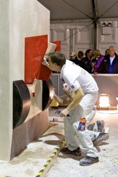 Nationalteam der Stuckateure bei den EuroSkills 2012